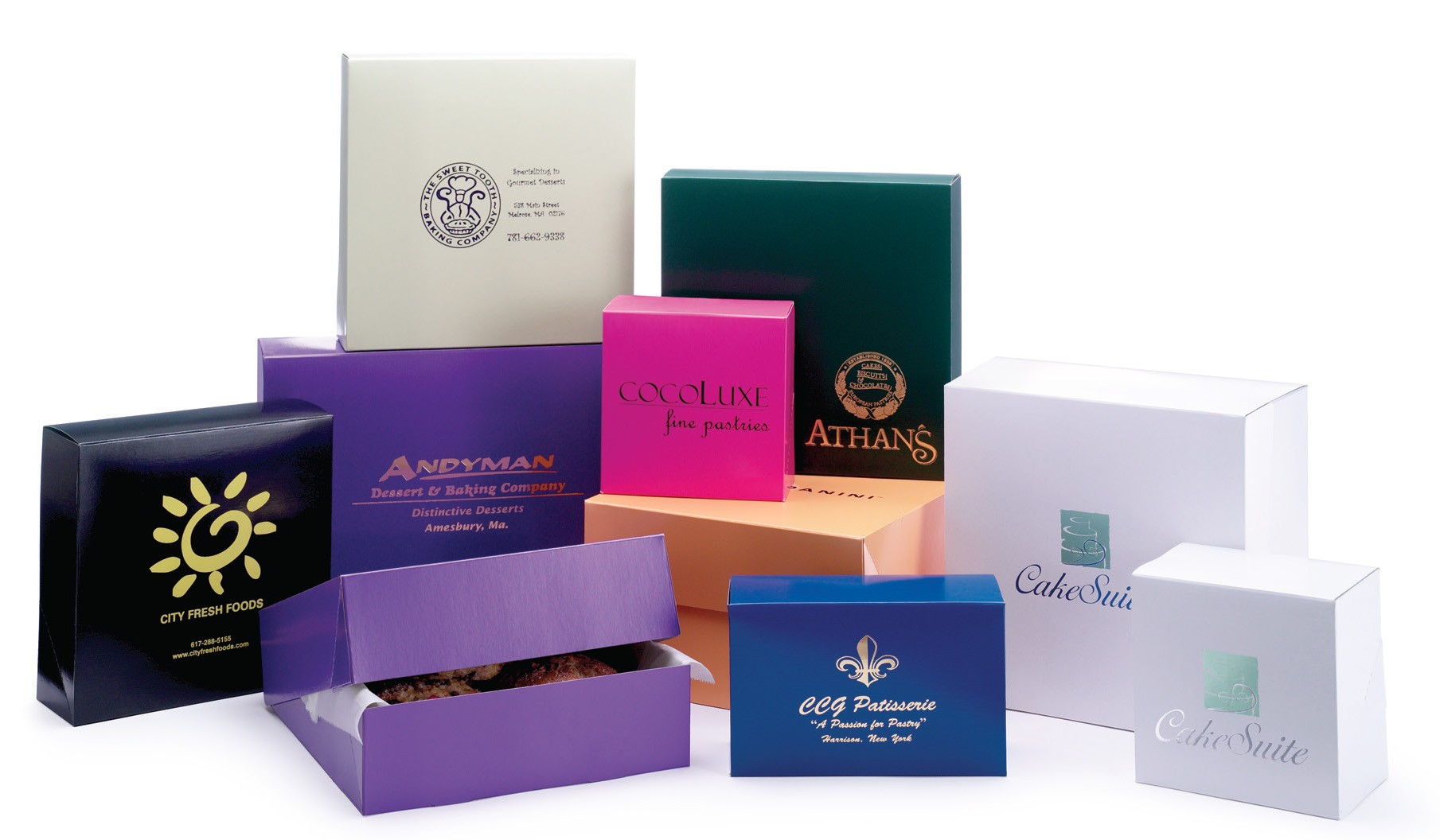 Color Cake Boxes Pastry Boxes And Cookie Boxes Box And